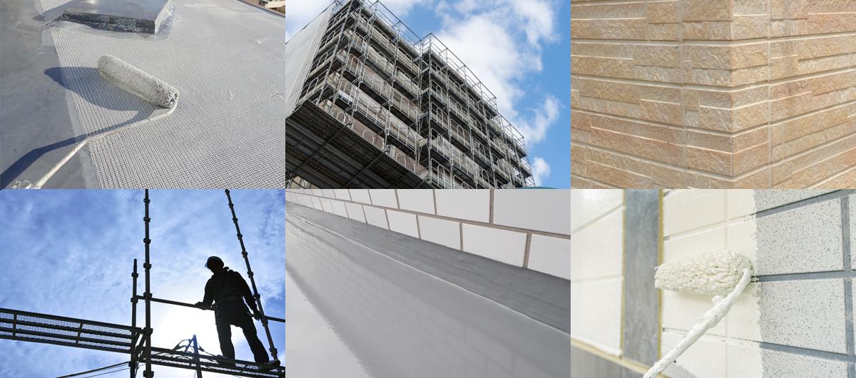 明光は名古屋市内を中心として防水工事、改修工事を行う専門工事会社です。